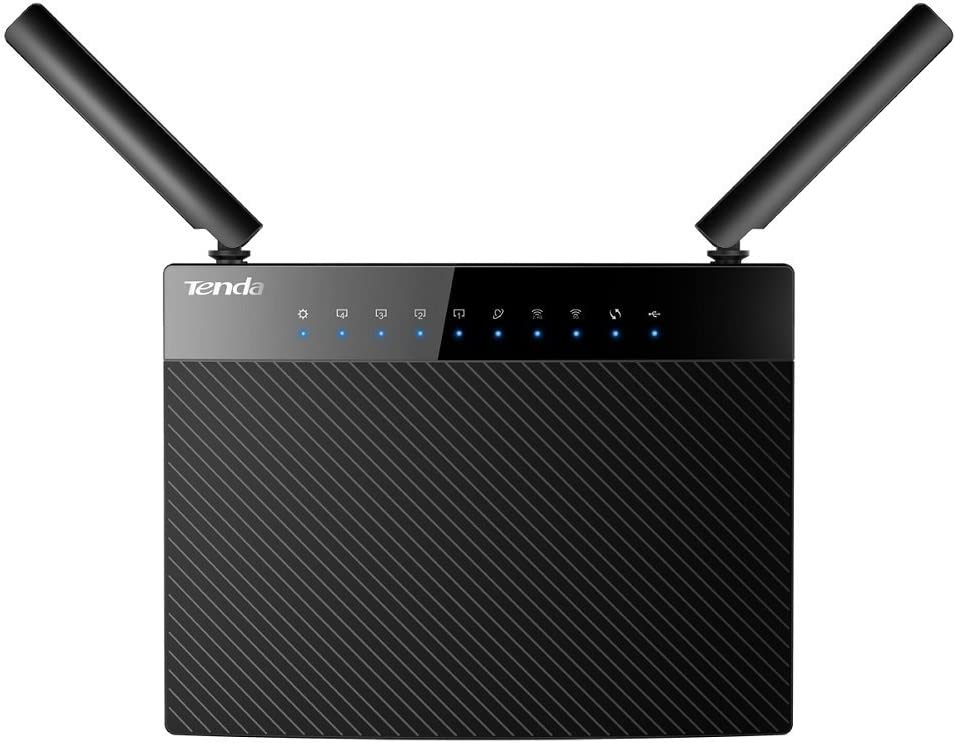 Tenda AC1200 Wireless Wi-Fi Gigabit Smart Router (AC9)