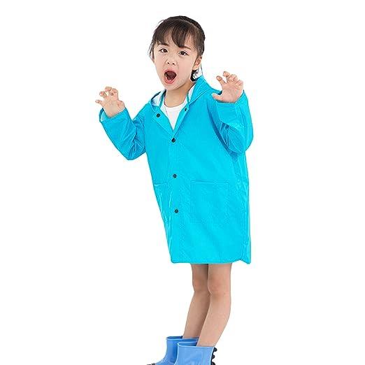 c2736f648 Amazon.com  Clobeau Kids Girls Raincoat Baby Boys Girls Rain Poncho ...