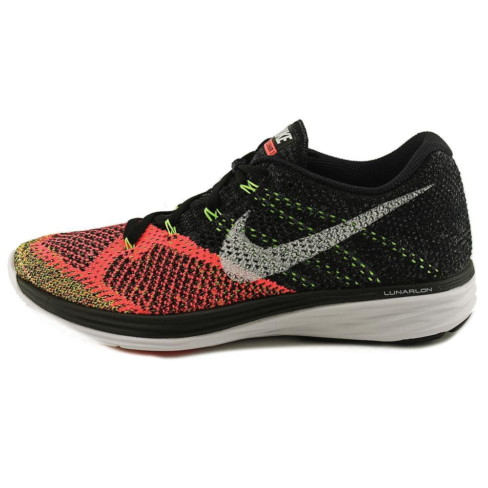 size 40 f247c 28a72 Nike Flyknit Lunar 3 Men US 7 Black Running Shoe  Buy Online at Low Prices  in India - Amazon.in