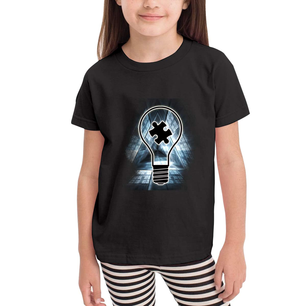 Onlybabycare Lightbulb Autism Awareness 100/% Cotton Toddler Baby Boys Girls Kids Short Sleeve T Shirt Top Tee Clothes 2-6 T