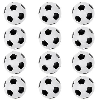 Gazechimp 12 piezas de Foosball Bolas Juegos Divertidos Fútbol de ...