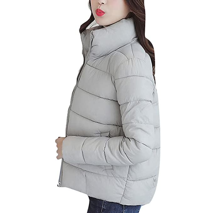 Amazon.com: Zhuhaitf Quality Assurance Stand Collar Quilted Down Jackets Best For Ladies Women: Clothing