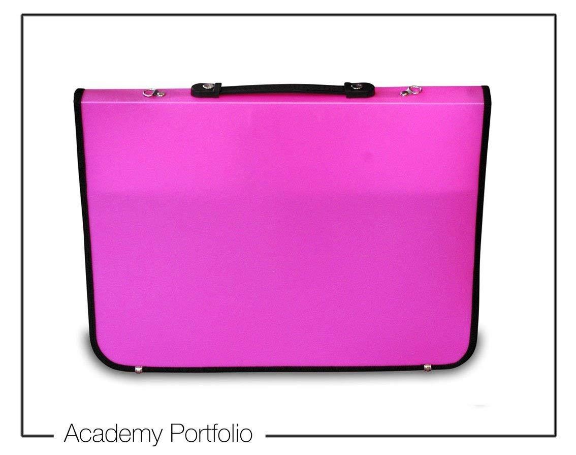 Artcare Künstlermappe (15922011 94 x 4 x 66.5 cm, A1, Synthetisches Material Academy Portfolio, Pink Mapac