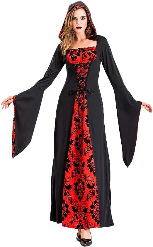 Fossenfeliz Disfraces Medievales Mujer De Bruja Reina Vestidos De Fiesta Mujer Tallas Grandes Disfraces Originales Adulto Para Cosplay Endimiento Drama Amazon Es Productos Para Mascotas