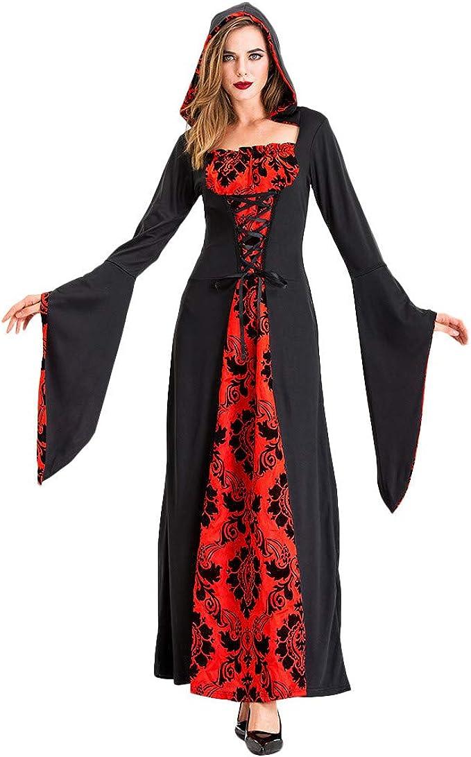 Vampiro De Disfraces de Halloween para Mujer - Disfraz de Bruja ...