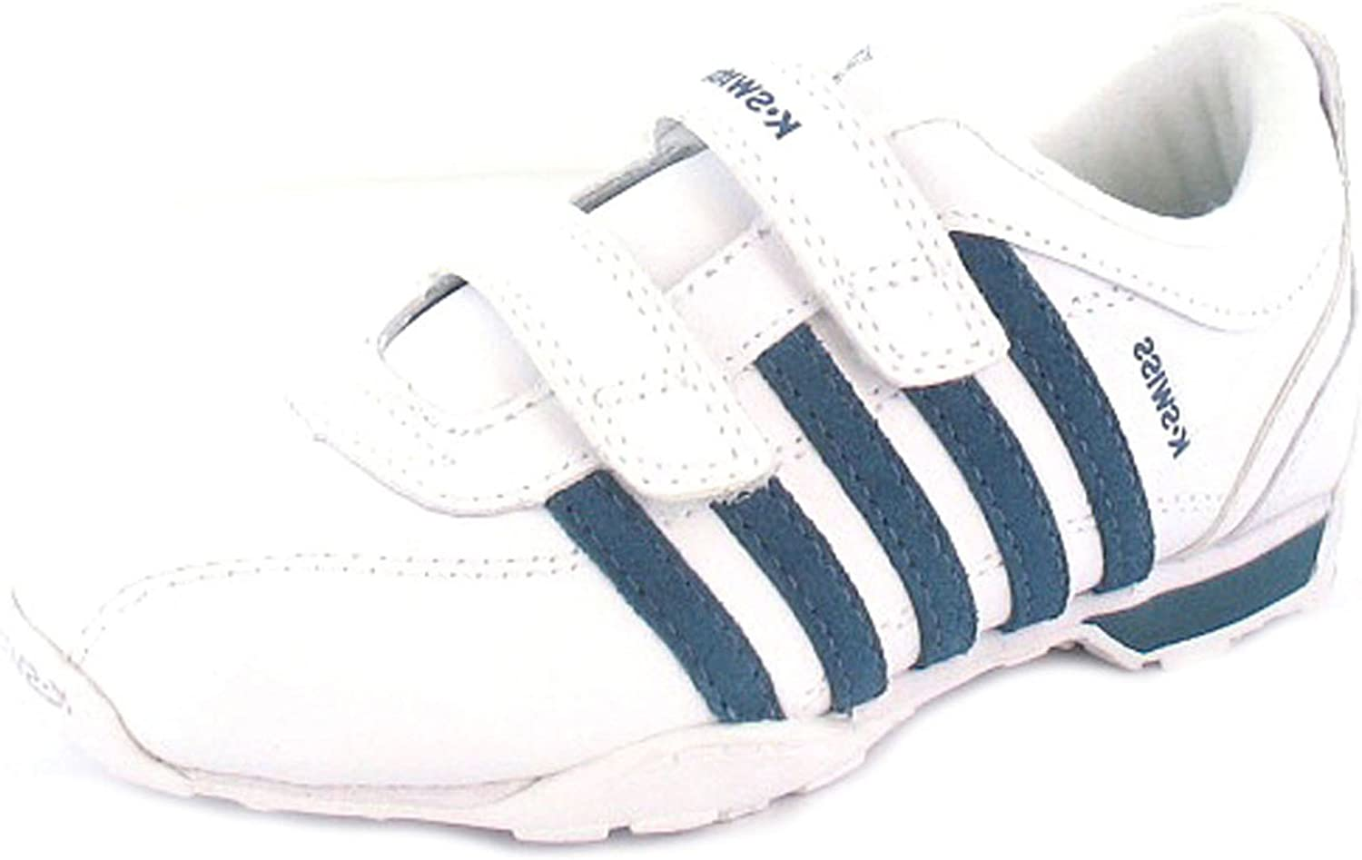 Leather Velcro Fastening Trainers