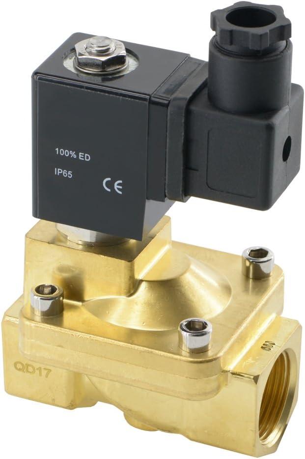 Magnetventil F/ür Wasseraufbereiter K/ühlschrank Stromlos Geschlossen DC 12V1 = Wasserspender Reinwassermaschine Milchteemaschine Wasseraufbereiter Magnetventil Zwei Punkte Schnelleinsatz