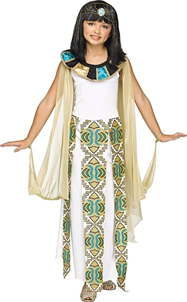 75b39ed5739 Amazon.com  BESTPR1CE Girls Halloween Costume- Cleopatra Kids Costume  Medium 8-10  Clothing
