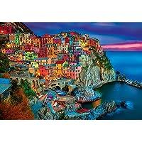 Juegos de búfalo - Cinque Terre - Rompecabezas de 2000 piezas