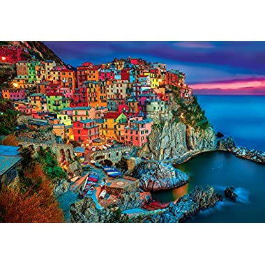 Buffalo Games 2000 piece:  Cinque Terre - 2000 Piece Jigsaw Puzzle by Buffalo Games