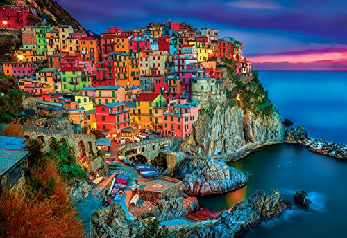 Best Jigsaw Puzzle - Buffalo Games - Cinque Terre - 2000 Piece Jigsaw Puzzle