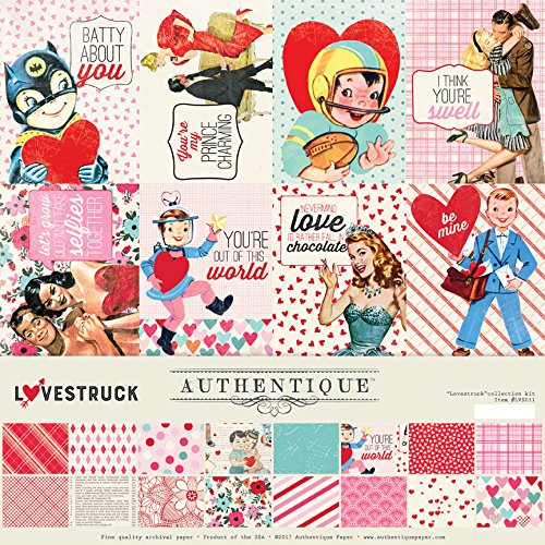 Authentique Lovestruck Collection Kit Lvstuck