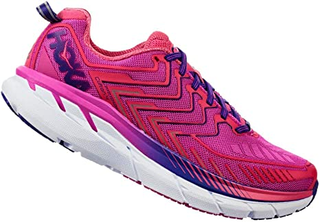 HOKA – Zapatillas Running Clifton 4 Mujer, Rose, 38: Amazon.es ...