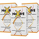 Noxitril BUY 2, GET 1 FREE - #1 Rated Male Enhancement Formula│STRONGER, HARDER, LONGER & POWERFUL PERFORMANCE │ Libido, Orgasm, Climax│Testosterone Levels│All Your Happiness Proudly Made in USA