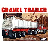 C.P.M. MPC 1:25 Scale Axle Gravel Trailer Model Kit (3-Piece)