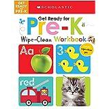 Get Ready for Pre-K Wipe-Clean Workbook: Scholastic Early Learners (Wipe-Clean)