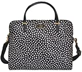 Kate Spade Daveney Wilson Road Musical Dots Laptop Shoulder Bag Handbag