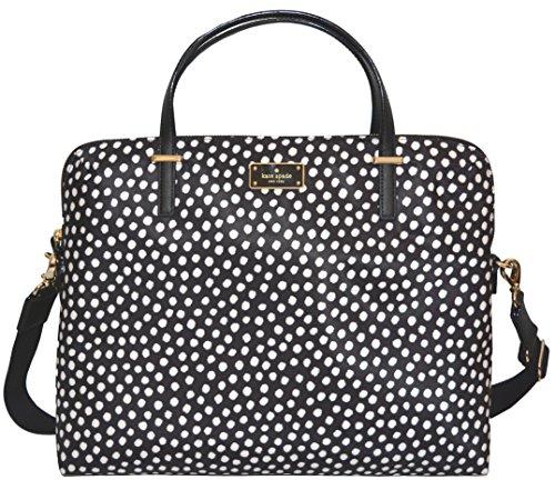 Kate Spade Daveney Wilson Road Musical Dots Laptop Shoulder Bag Handbag by Kate Spade New York
