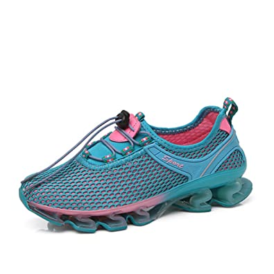 detailed pictures 5ad73 76c1e GOMNEAR Running Shoes Mesh Slip on Lightweight Breathable Women Casual  Fashion Sneakers Athletic Sports Shoes,