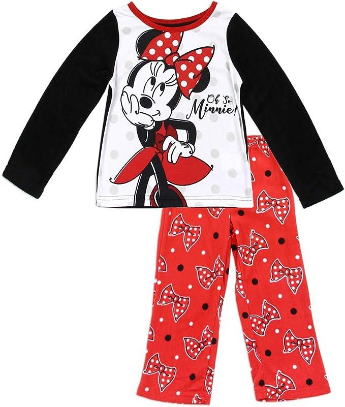 Minnie Mouse Disneys Soft Fleece Pajama Set~ Girls SZ 4T