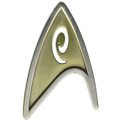 QMX Star Trek Beyond Magnetic Insignia Badge: Toys & Games