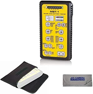 ZTS Multi Battery Tester - ZTS MBT-1 [New 2019 Version] With Pouch & Cleaning Cloth Kit
