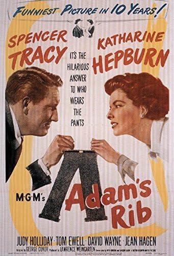 Amazon.com: XXXL Poster Adam's Rib (1949 24 X 36: Posters & Prints