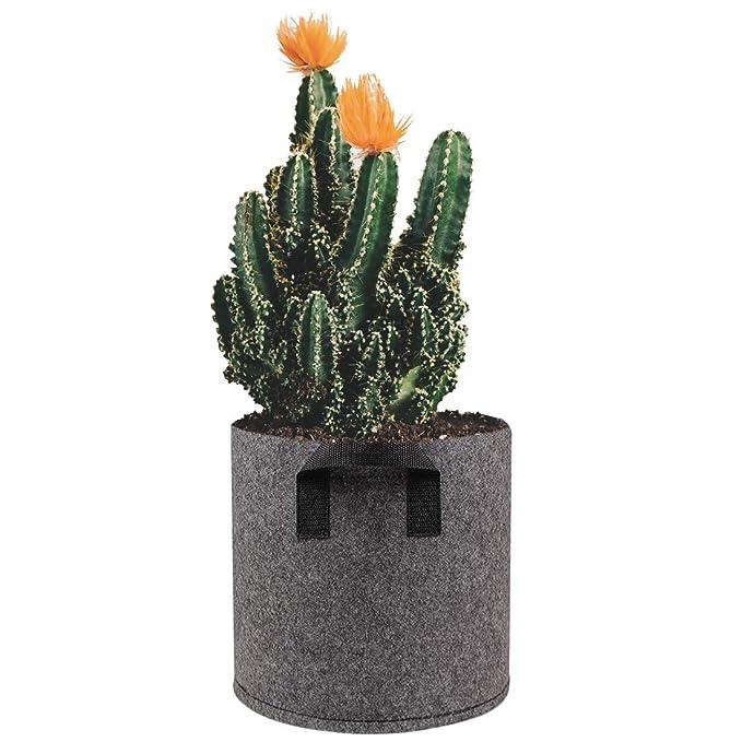 K9CK Bolsas para Plantas, 5pcs Bolsa de Siembra de 3 Galones Bolsa ...