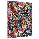 Power Rangers Crowd of Rangers Canvas Wall Art