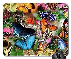 Butterflies Butterflies Mouse Pad, Mousepad (Butterflies Mouse Pad)