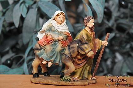Belén & Oster de pesebre, figuras de nacimiento + Belén decorativo, nacimiento de Jesús