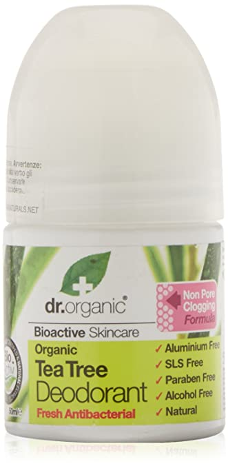 28 opinioni per Dr.Organic Tea Tree Deodorante 50 ml