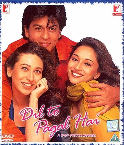 The Heart is Crazy (Dil to Pagal Hai): A Musical Romantic Film (DVD with Optional Subtitles in English, Arabic, Spanish, Japanese/Malay French, Dutch and Portugese) by