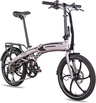 Bicicleta eléctrica plegable de Chrisson de 20 pulgadas eFolder ...