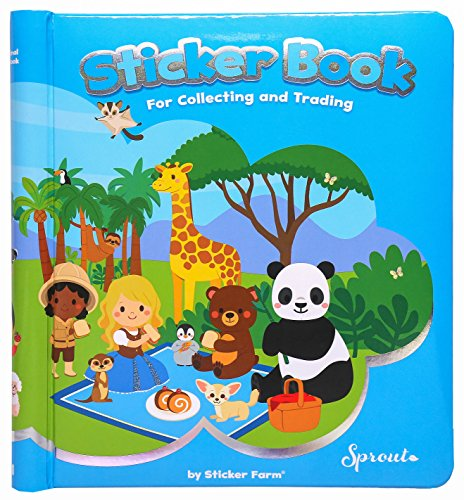 Original Series Travel-Size  Reusable Sticker Book for Colle