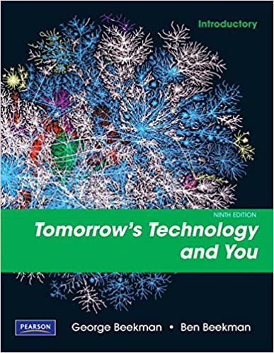 Tomorrows technology and you introductory 9th edition george tomorrows technology and you introductory 9th edition 9th edition fandeluxe Image collections