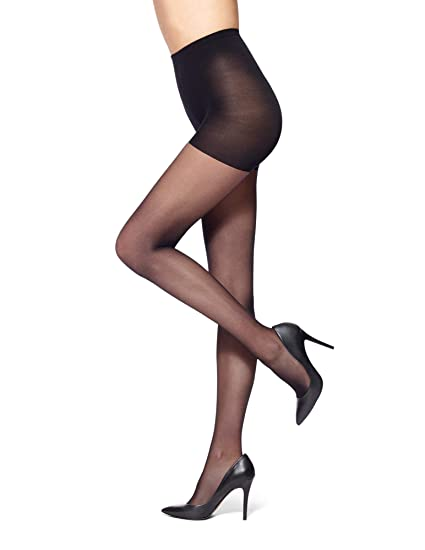 acc00a352684d No Nonsense Women's Shapes Run Stop Sheer Pantyhose, midnight black, ...