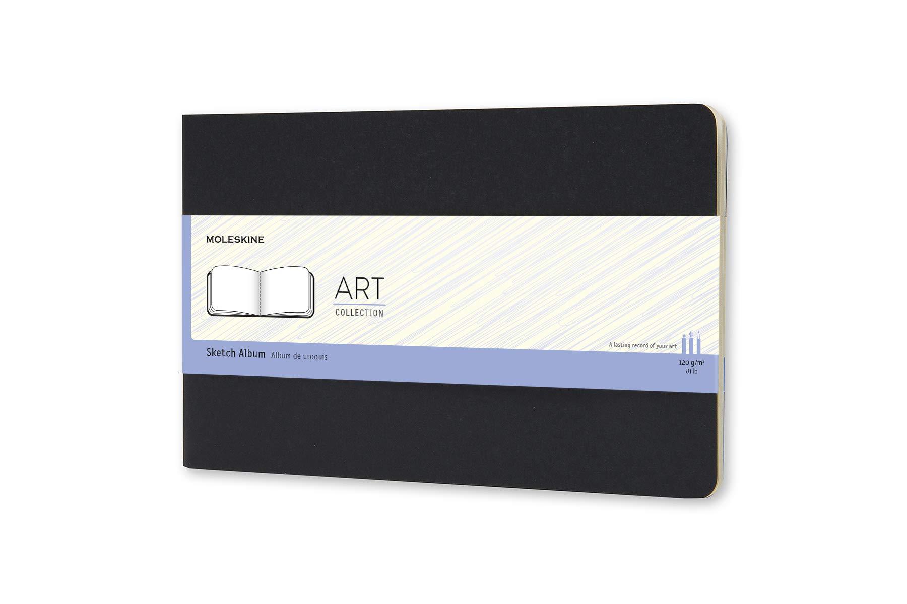 Moleskine Art Plus Hard Cover Sketch Album, Plain, Large (5.
