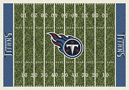 Tennessee Titans NFL Team Home Field Area Rug by Milliken, 3'10