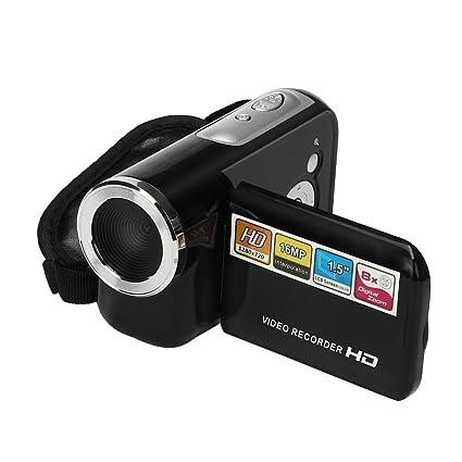 Videocámara, Damark(TM) Mini Portátil LCD 1.5 Pantalla HD 16MP 8X Digital Zoom