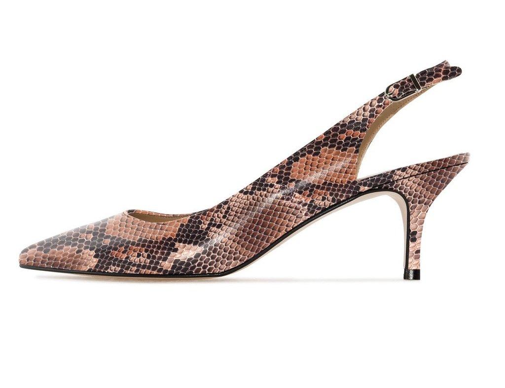 Soireelady - Zapatos con correa de tobillo Mujer 36 EU|Z-brown