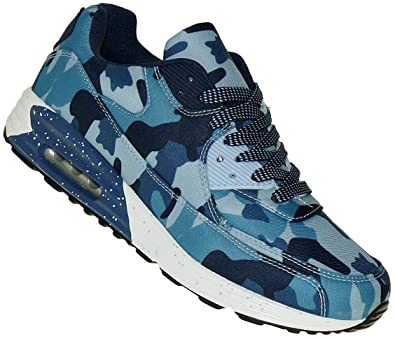3dfb3e3c21 Bootsland Style Luftpolster Herren Turnschuhe Sneaker Sportschuhe 031,  Schuhgröße:41, Farbe:Camo