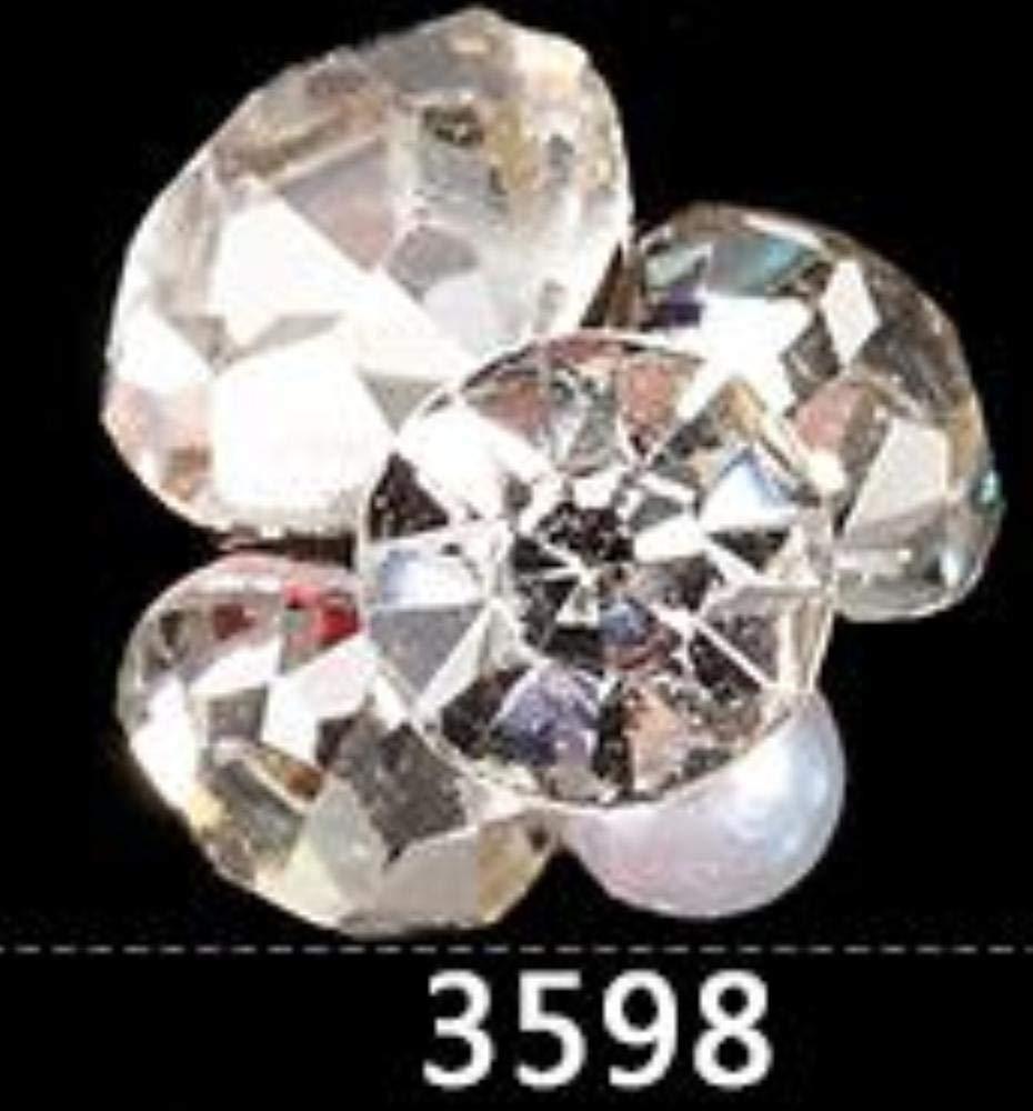d232b561d0 Amazon.com: 10PCS/Lot new nail jewelry crystal rhinestone big ...
