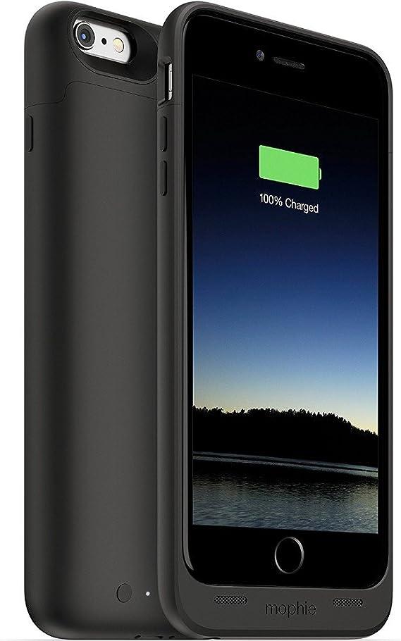 Mophie Juice Pack - Carcasa para Apple iPhone 6 Plus (con batería de 2600 mAh), Color Negro: Amazon.es: Electrónica