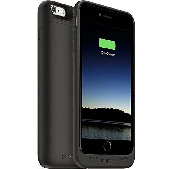 e57dfaea20c Image Unavailable. Image not available for. Color: mophie juice pack -  Protective Battery Case for iPhone 6 Plus ...