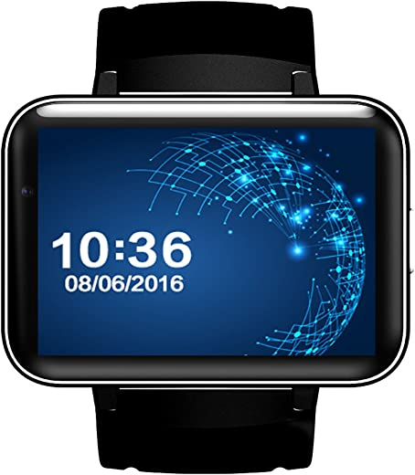 DM98 SIM Card 3G Smart Watch Bluetooth 4.0 GPS Wifi Andriod 4.4.2 2.2 Inch Watch