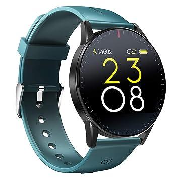 Amazon.com: WLPT QS09 Smartwatch, Heart Rate Blood Pressure ...