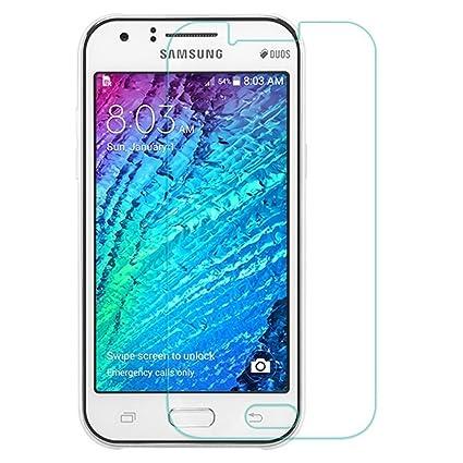 Protector de Pantalla para Samsung Galaxy J1 Cristal Vidrio ...