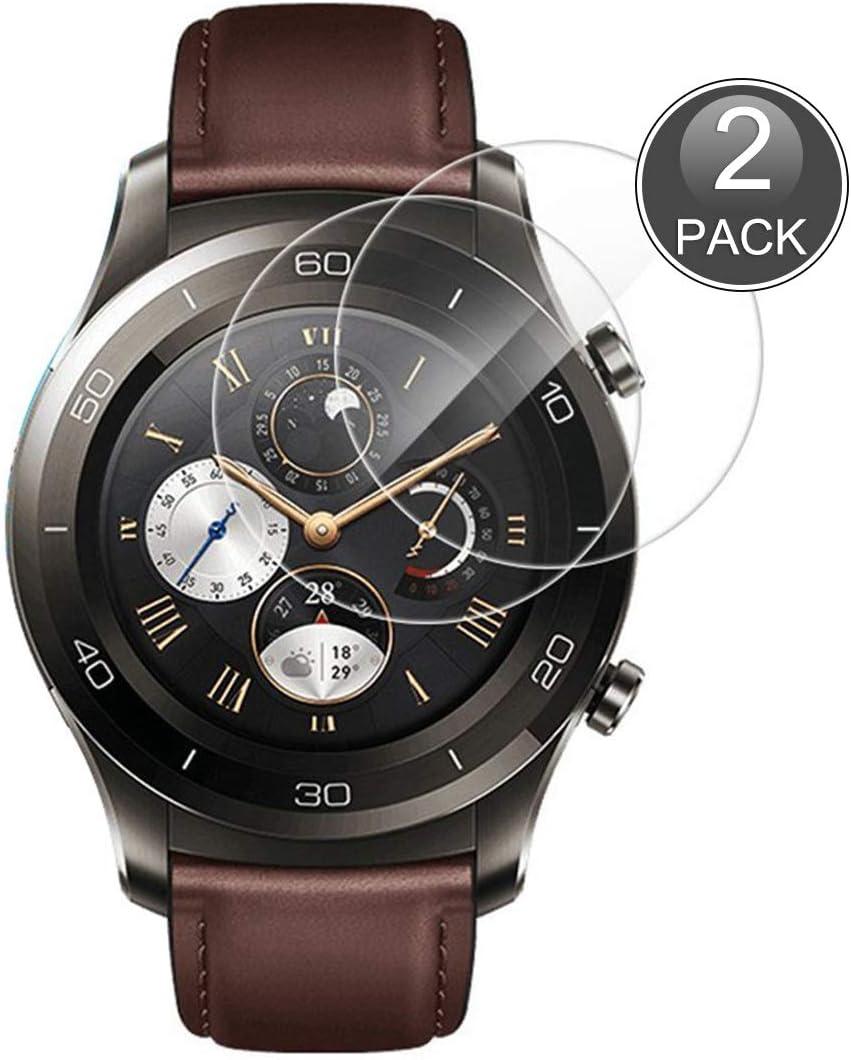 E-Hamii [2-Pack Huawei Watch 2 Pro Protector de Pantalla, 0.26mm ...