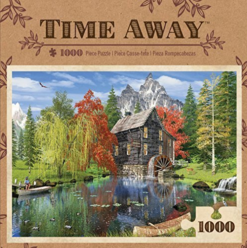 MasterPieces Time Away Creekside Mill Puzzle (1000 Piece) MasterPieces by MasterPieces Piece) 1fa131